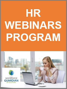 HR Webinars Program powered by Workforce Guardian